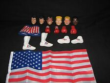 Rocky Stallone Hot Toys 1/6 head,short,shoes,boots,gloves,flag,custom Apollo