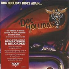 DOC HOLLIDAY-Rides again   + 2            CD Re-Release