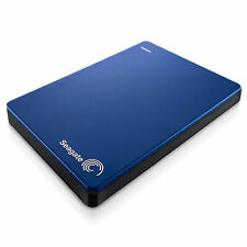 Seagate Backup Plus Slim 500GB Portable External Hard Drive USB 3.0 HDD Blue