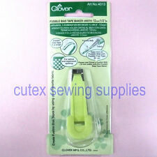 """Clover Fusible Bias Tape Maker - Finish Width Size 12mm (1/2"""")"""