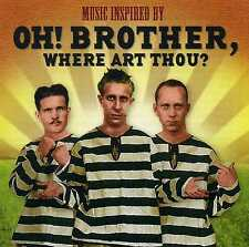 MUSIC INSPIRED BY OH! BROTHER, WHERE ART THOU? - BURL IVES - 2 CDS - NEW