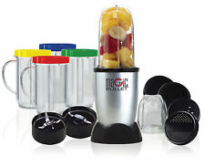 Brand New Magic Bullet 21 Piece Set Grinder Food Processor Blender