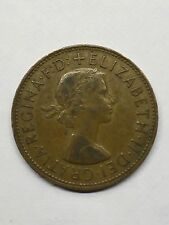 1967 Queen Elizabeth II One Penny