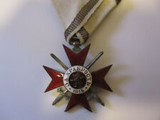 Bulgaria WWI Military Order for Bravery 4th Class 2nd Grade 1915