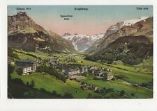 Engelberg Vintage Postcard Switzerland 388a