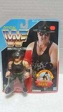 WWF Hasbro SGT. SLAUGHTER Action figure 1991 Blue card