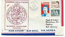 Canadian Forces Station Alert Ellesmere Island Belleville Polar Antarctic Cover