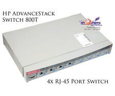 HP ADVANCESTACK SWITCH 800T J3245A 4x RJ-45 100-MBit/s 1x RS-232 J3192A -B273