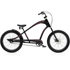 Electra Revil 3i  3Gang Herren Beachcruiser, Cruiser Chopperbike, Disc, schwarz