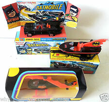 CORGI Junior Batman BATMOBILE BATBOAT BATCOPTER on Mini Repro 107 267 925 Boxes