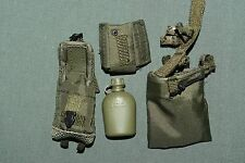 "1:6 Modern US Army Green Equipment Gear Bag Canteen for 12"" Action Figures C-124"
