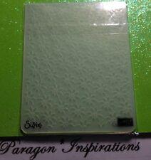 Stampin Up PETALS A PLENTY Textured impressions Embossing Folder Poinsettia EUC