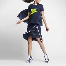 NWT NIKE LAB X SACAI Fashion Tech Fleece Skirt 802250 451 NavyBlue/White XL $250