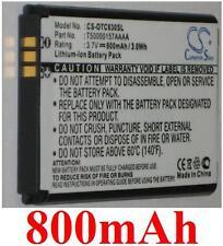 Batterie 800mAh Pour Alcatel OT-C701, OT-C707, OT-C717
