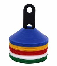 50 MultiColor Disc Cones Soccer Football Field marking Coaching training agility