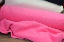 Fleece Stoff / Baumwollfleece / Pink