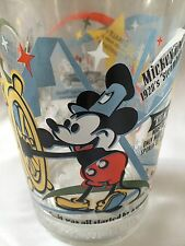 Walt Disney McDonalds 100th Anniversary Share A Dream Steamboat Willie Glass