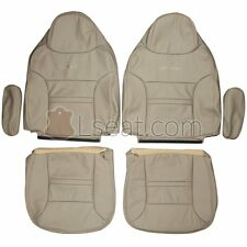 1999-2005 Ford Excursion Custom Real Leather Seat Covers (Front)