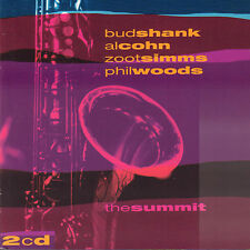 BUD SHANK/AL COHN/ZOOT SIMMS/PHIL WOOD - SUMMIT (1999 UK 2-CD JAZZ)