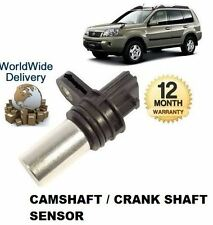 FOR NISSAN XTRAIL X TRAIL 2.0 2.5 2002-2007 NEW CAMSHAFT OR CRANKSHAFT SENSOR