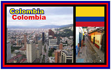 COLOMBIA (SOUTH AMERICA) - SOUVENIR NOVELTY FRIDGE MAGNET - BRAND NEW - GIFT