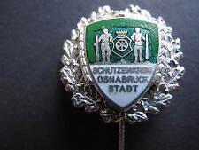 Anstecknadel Silberne Ehrennadel Schützen Kreis Osnabrück Stadt