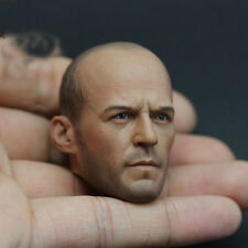 1:6 Jason Michael Statham Head Model Toys Actor Male Stars Fas Furious Mechanic