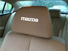 MAZDA CAR SEAT / HEADREST DECALS - BADGE - Vinyl Stickers - Graphics X5