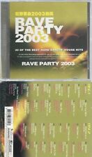 CD--RAVE PARTY 2003--2CD--HDCD