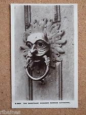 R&L Postcard: The Sanctuary Knocker Durham Cathedral, Real Photo