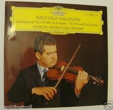 Shmuel Ashkenasi – Niccolo Paganini Concerto No. 1 in D and No. 2 in Bm – DG