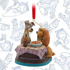 2016 Disney Lady and the Tramp Limited Sketchbook Ornament Art of Animation June