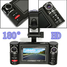 New 1080 HD Dual Len Car Camera Vehicle DVR Dash Cam Video Recorder Night Vision