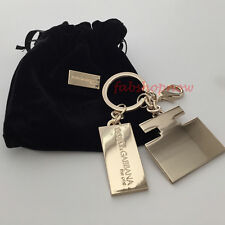 Dolce & Gabbana D&G The One Keyring Keychain w/Dust Bag