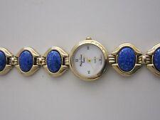 Main Line Time gold-tone Watch with Lapis Bracelet, Quartz