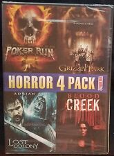 Horror 4 pack - Poker Run / Grizzly Park / Lost Colony / Blood Creek (DVD)  New!