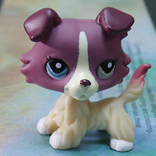 """LPS COLLECTION LITTLEST PET SHOP PLUM YELLOW PUBBY DOG RARE TOY 3"""""""