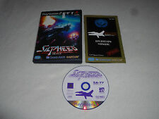 PLAYSTATION 2 PS2 JAPAN IMPORT GAME SILPHEED THE LOST PLANET COMPLETE W MANUAL