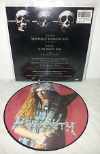 "7"" 45 GIRI MEGADETH - SYMPHONY OF DESTRUCTION - PICTURE DISC"
