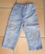 MEXX - schicke Jeans Gr. 86 mit Stickerei und Steinen - fast ungetragen