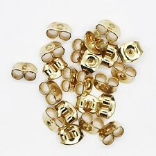 Earring Back for Posts Butterfly Style Goldtone Pack of 20