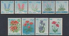 Libanon Lebanon 1964 ** Mi.847/55 Blumen Flowers Flora Mohn Poppy Anemone