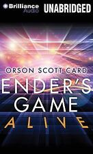 ENDER'S GAME ALIVE unabridged audio book on CD by ORSON SCOTT CARD