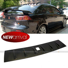 For 08-15 Mitsubishi Lancer EVO Vortex Generator Shark Fin Roof Wing Spoiler