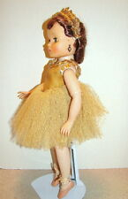 "Vtg Brunette Madame Alexander 15-16"" Ballerina Doll ELISE 1959 All Original"