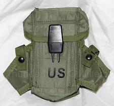 NEW US Military ALICE Small Arms Ammo Ammunition Pouch w/ ALICE Clips USGI VGC