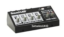 Soundlab G105C very popular 4 channel microphone mixer wiyh built in effects