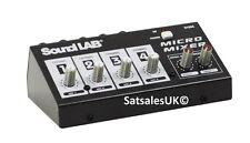 Soundlab g105c molto popolari 4 CANALI MICROFONO MIXER WIYH costruita in effetti