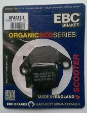 Piaggio NRG 50 Power (2004 to 2013) EBC Kevlar FRONT Brake Pads (SFA83/2)