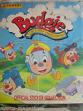 RARE PANINI 1995 BUDGIE THE LITTLE HELICOPTER STICKER BOOK ALBUM EMPTY UNUSED